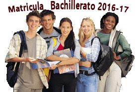 Matricula Bachillerato